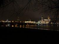 Dresden Canaletto Blick bei Nacht