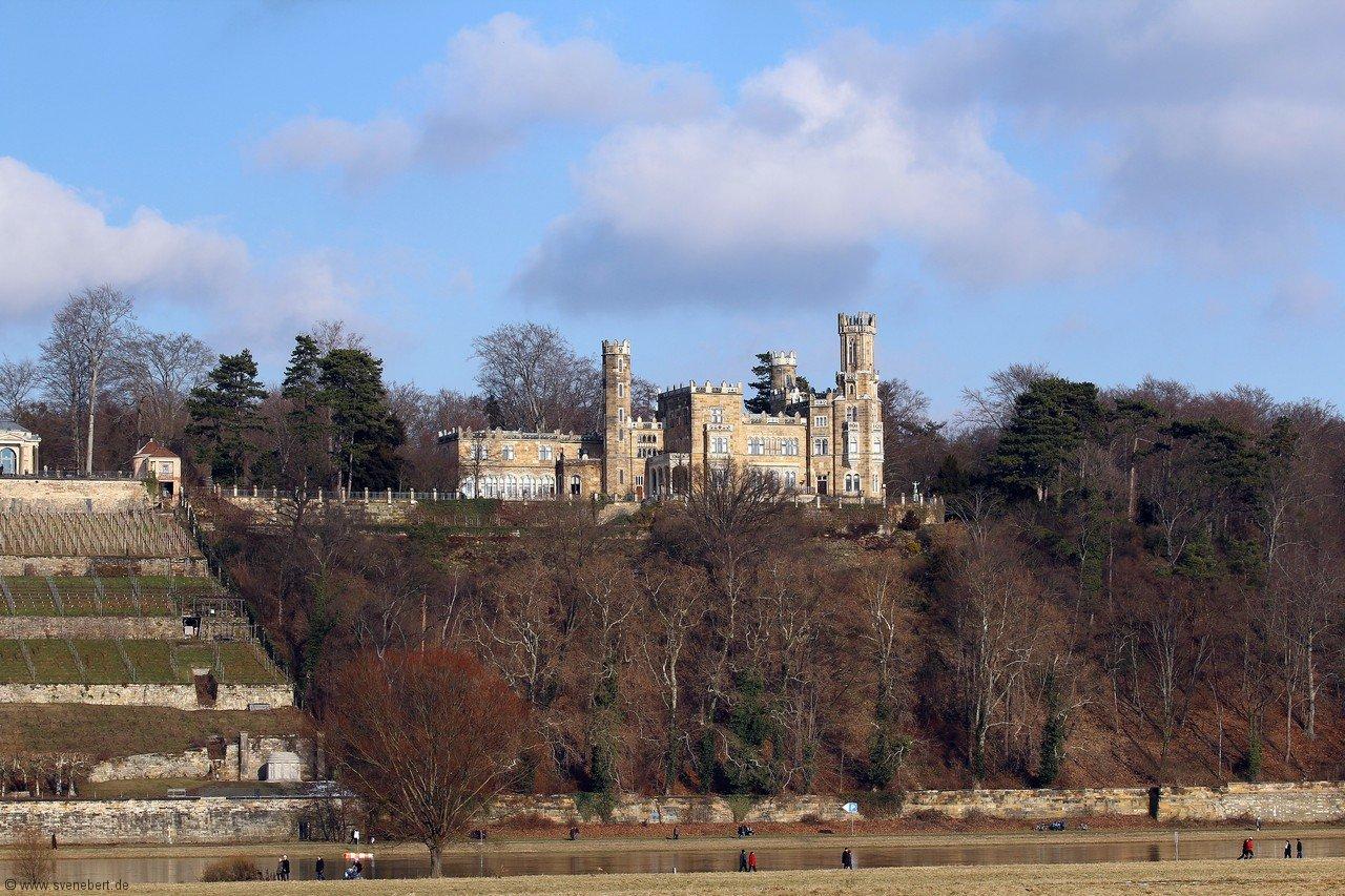 Dresden Schloss Eckberg im Februar 2013