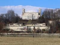 Dresden Schloss Albrechtsberg im Februar 2013