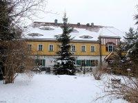 Dresdner Heide Fischhaus mit Garten Januar 2013