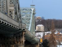 Dresden Brücke blaues Wunder