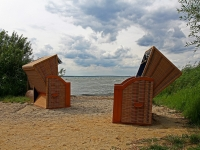 Insel Usedom, Erholungsbucht in Warthe, August 2013