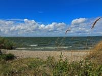 Insel Usedom,  Minibadebucht auf der Halbinsel Cosim, August 2013